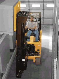 articulated forklift for sale