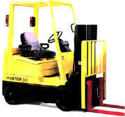 truckers mast forklift for rent