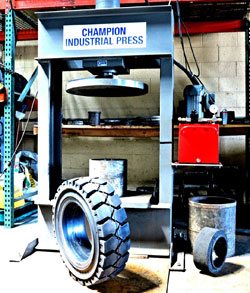 replacement forklift tires for nj and ny