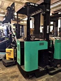 Used Clark Reach Forklift NPR20