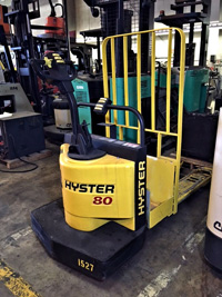 Used Hyster Electric Rider Pallet Jack